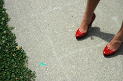 """Amanda's Red Shoes, from """" Feet"""""""
