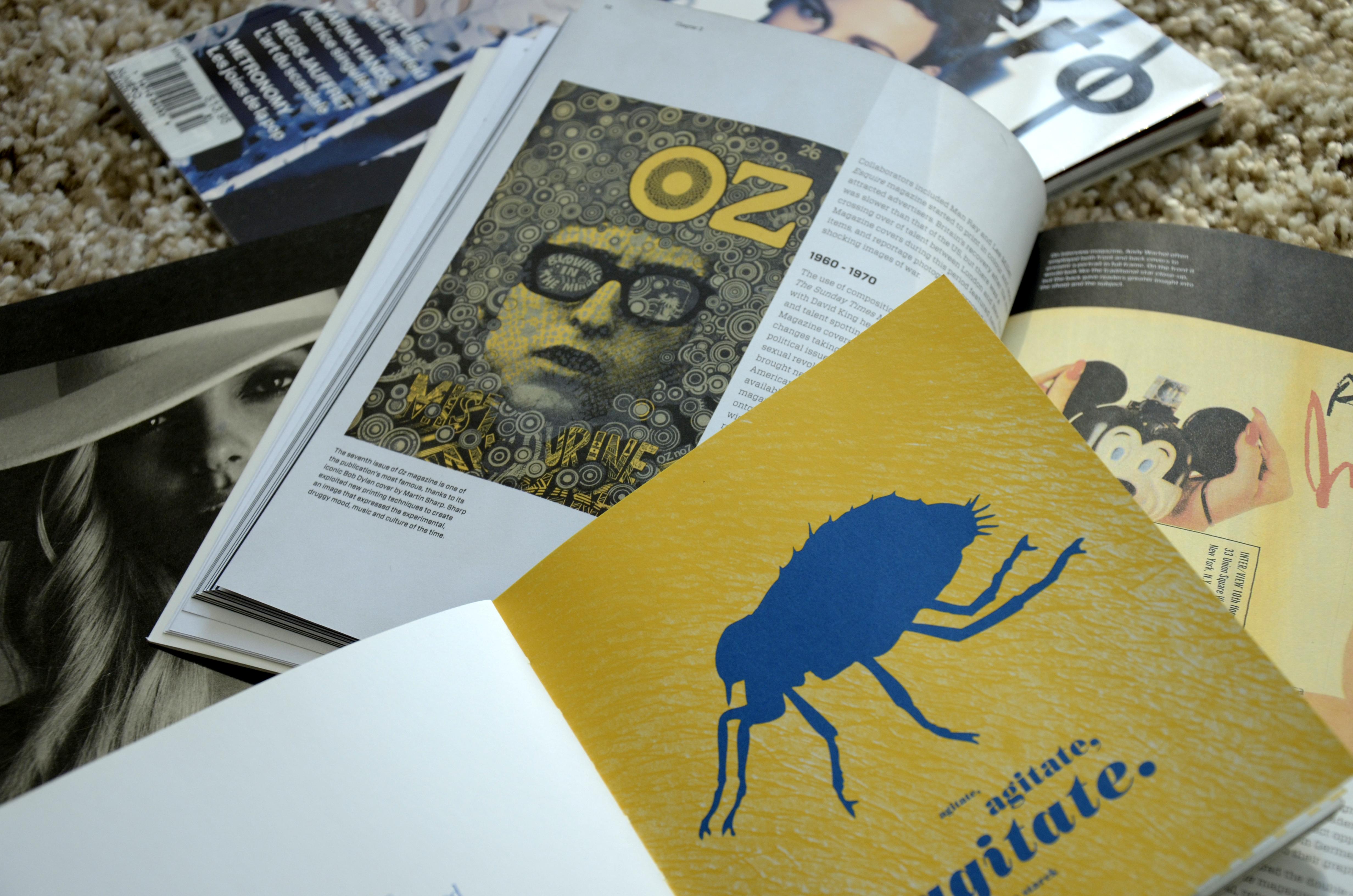 Design books, still-life