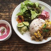 ハナハッカの庭 食堂