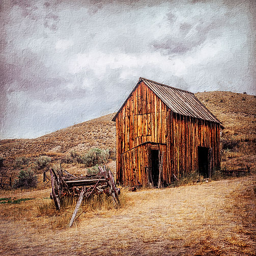 BANNACK CITY WITH PAINT EFFECT for insta