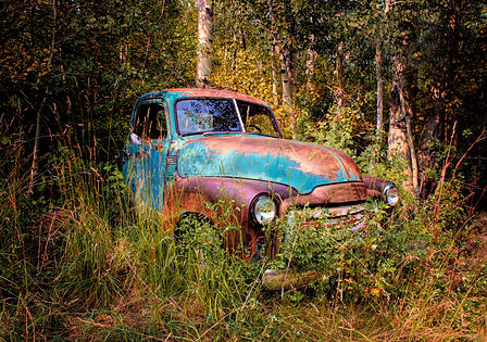 Craig's old high school truck