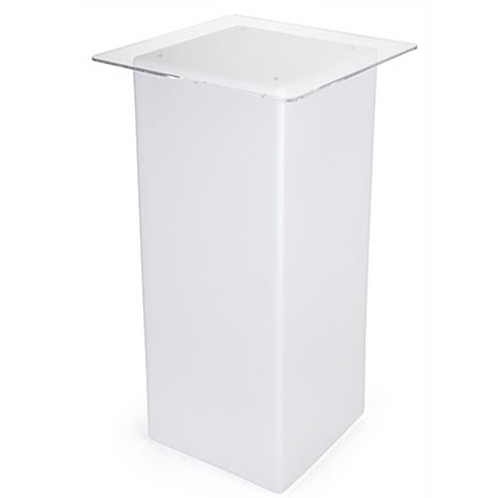 White Acrylic Cocktail Table