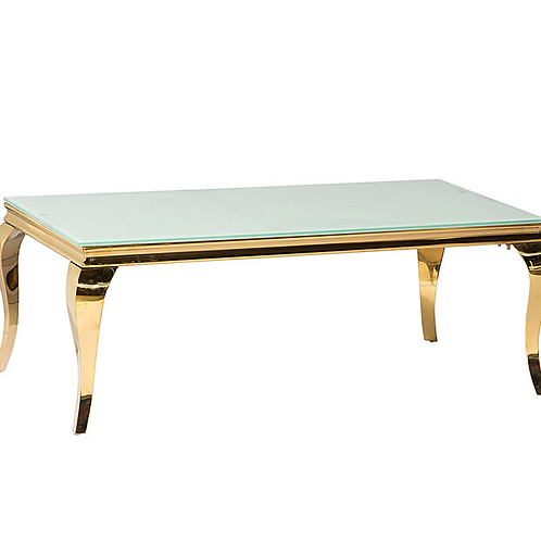 Madison Coffee Table Silver/Gold