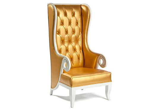 Gramercy Wingback Chair - Gold