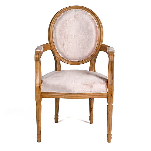 Louis Chair -  Blush