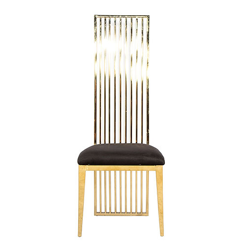 Black and Gold Luxury Chair