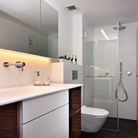 תכנון ועיצוב מקלחת אורחים