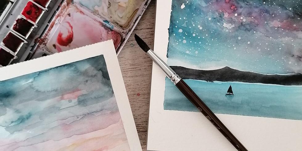 Polaroids de Acuarela. Con Chari Nogales
