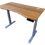 Thumbnail: Bamboo curved desk top with 3-stage frame
