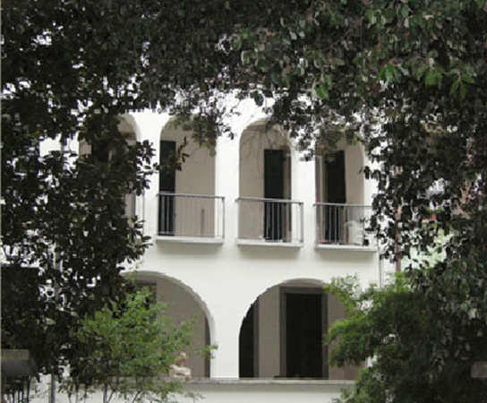 Particolare casa Taragni