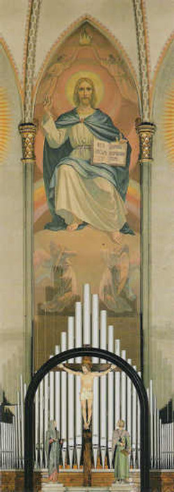 Gesu' in trono