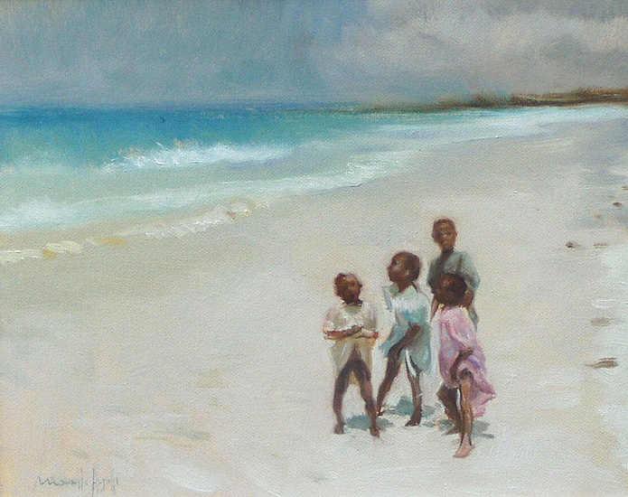 Bambini a Zanzibar