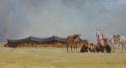 Accampamento nomade