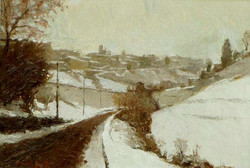 Nevicata a Bergamo