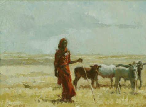 Pastore nel deserto del Chialby