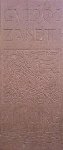 La stele di casa Arzuffi-Zanetti