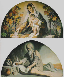 Maternità e San Girolamo