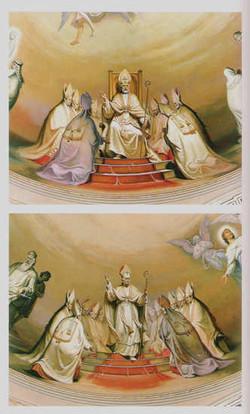 Papa Celestino I e Pio IX