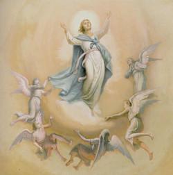 L'assunta con angeli