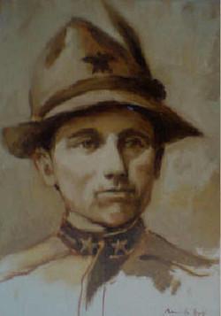 Ritratto dell'alpino Morelli Nicola