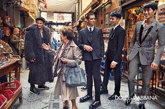 Dolce e Gabbana ringraziano Napoli: la bellezza della realtà napoletana nella nuova campagna Fall/Wi