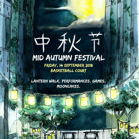 Mid Autumn Festival poster