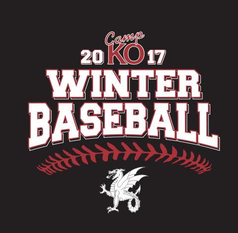 Camp KO Winter Baseball 2017 logo