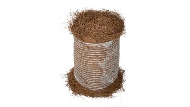 Long Leaf Pine Straw Round Bale