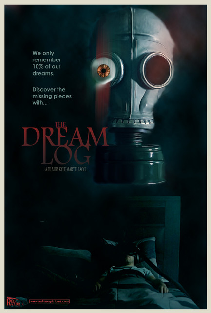 The Dream Log (Official Poster) Smaller.