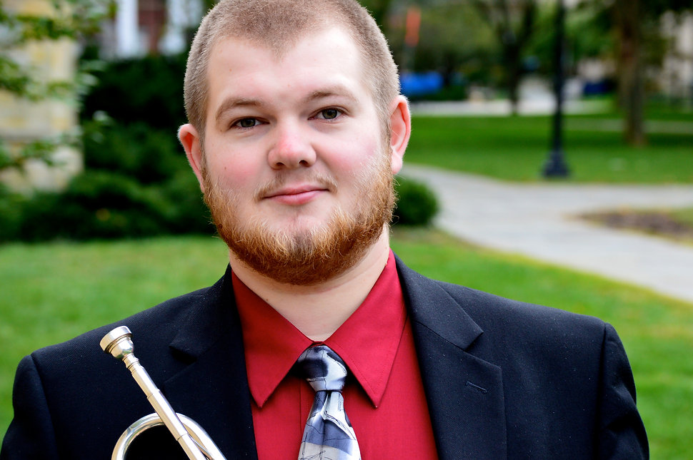 Andrew Stadler, Trumpet, photo by Stephanie Tubiolo