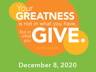 As we near the end of a challenging year we ask for your support on Dec. 8th for Colorado Gives Day