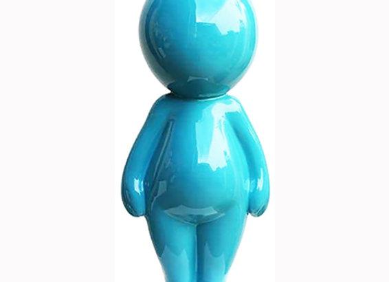sandra David bleu