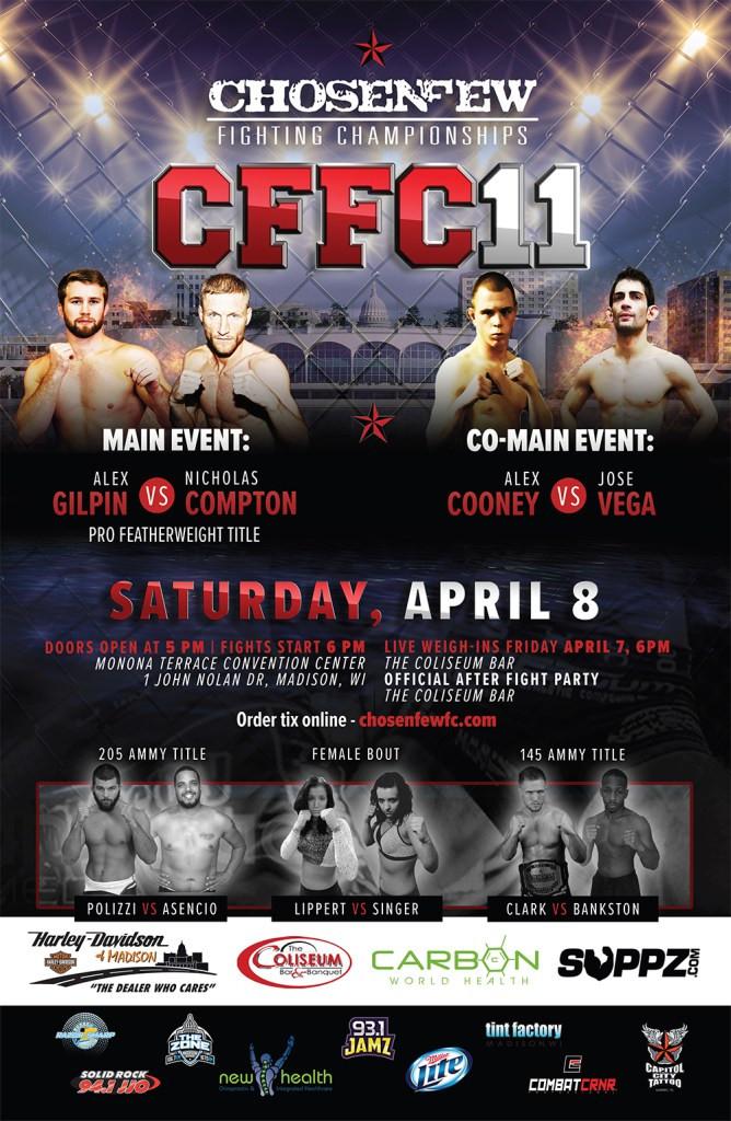 Chosen Few Fighting Championship 11