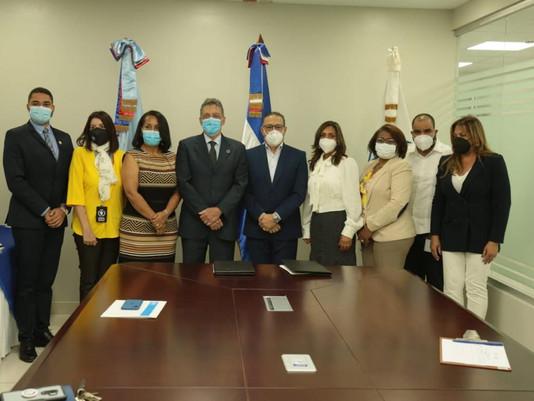 INABIE firma acuerdo de cooperación con el Programa Mundial de Alimentos