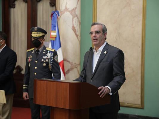 Presidente Abinader pide otros 45 días de estado de emergencia