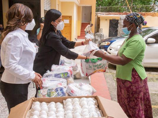 INABIE continuará entrega de alimentos crudos para cumplir con protocolo establecidos