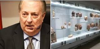 Cultura deja para luego compras  pendientes Por 268 millones  de pesos en vitrinas
