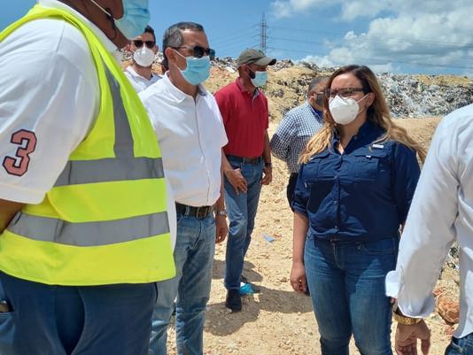 LMD apoyará iniciativas del alcalde de Haina para mantener control de vertedero
