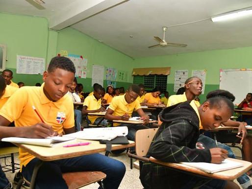 Más del 90% de los alumnos es haitiano