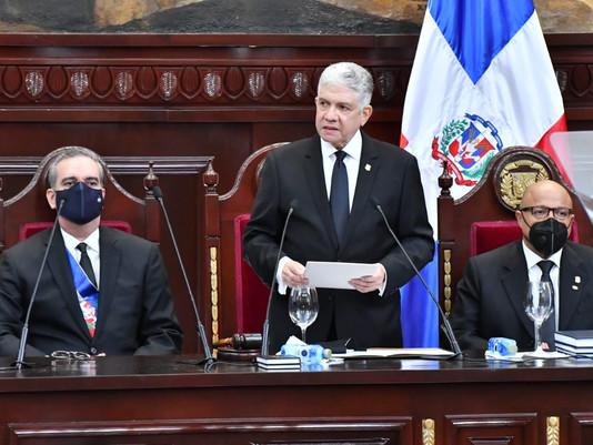 Eduardo Estrella, Presidente del Senado de la República habla de su gestión