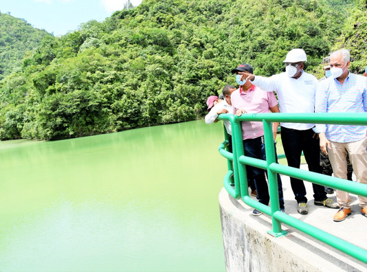 Administrador de EGEHID anuncia proyecto de recuperación de capacidad de almacenamiento de la presa