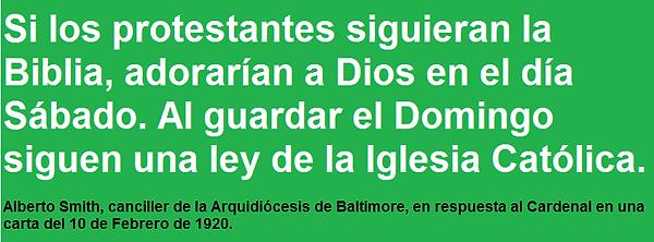 Si los protestantes siguieran la Biblia. Domingo 3.png