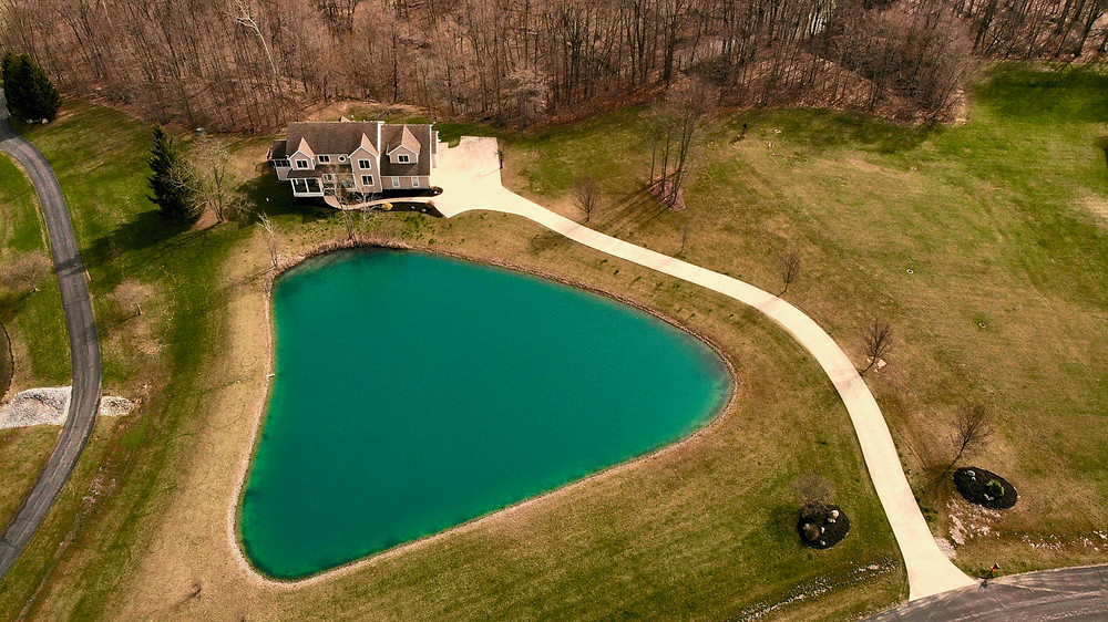 Aerial Photography just outside Fort Wayne, Indiana in Huntington, Indiana.