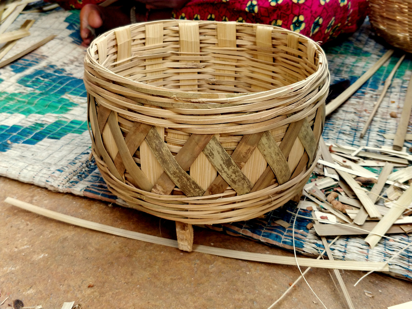 Baskets for temples