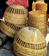 Baskets for chicken traps