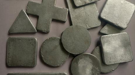 Metal-casted blocks
