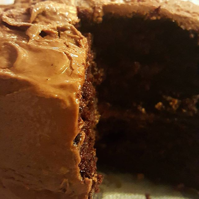 Our delicious chocolate cake. _sistahgirldessert