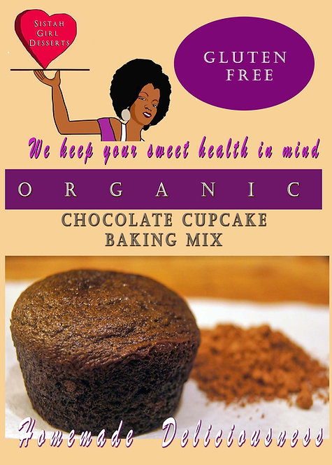"""""""Double Trouble"""" Chocolate Cupcake Mix - (2 pack) $8.95 each"""