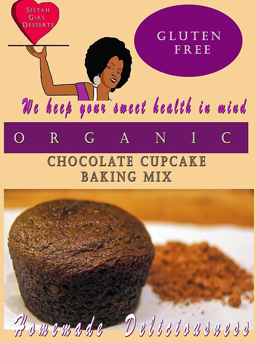"""""""Double Trouble"""" Chocolate cupcake  Mix-Case  (12)"""