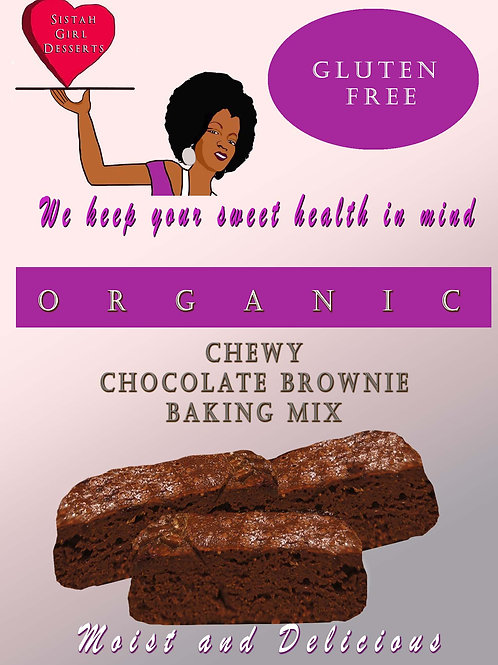 Chewy Chocolate Brownie Cake Mix